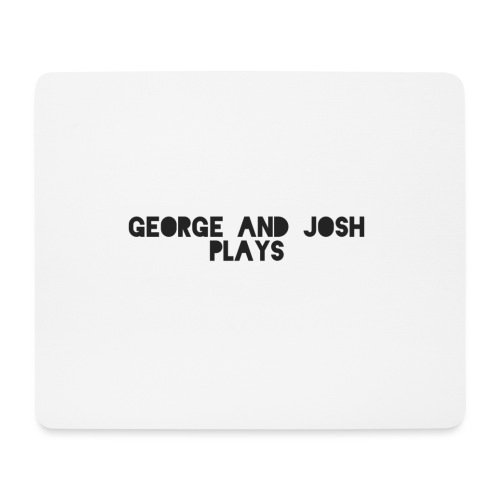 George-and-Josh-Plays-Merch - Mouse Pad (horizontal)