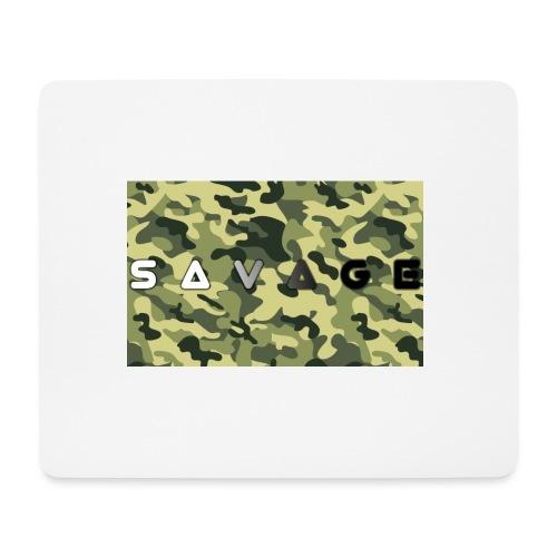 savage camo premium - Mousepad (Querformat)