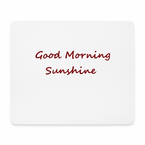 Good morning Sunshine - Muismatje (landscape)