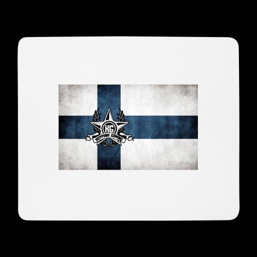 Suomen lippu - Hiirimatto (vaakamalli)