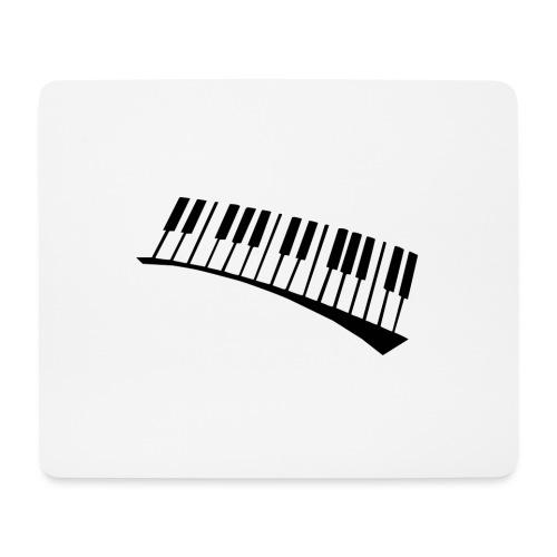 Piano - Alfombrilla de ratón (horizontal)