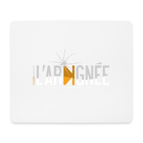 L'Araignée, le logo clair pour fond foncés - Tapis de souris (format paysage)