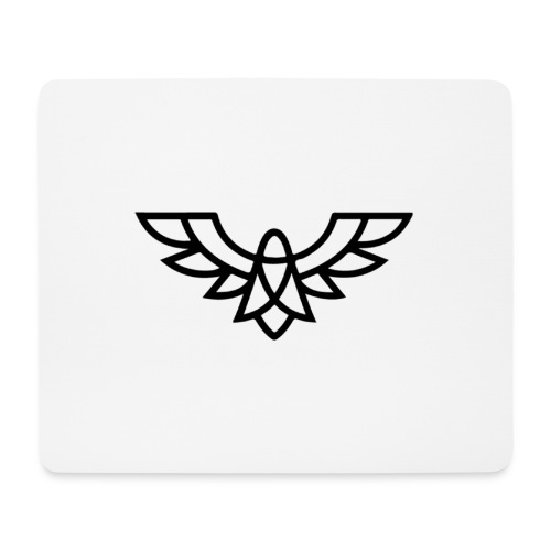 Clean Plain Logo - Mouse Pad (horizontal)