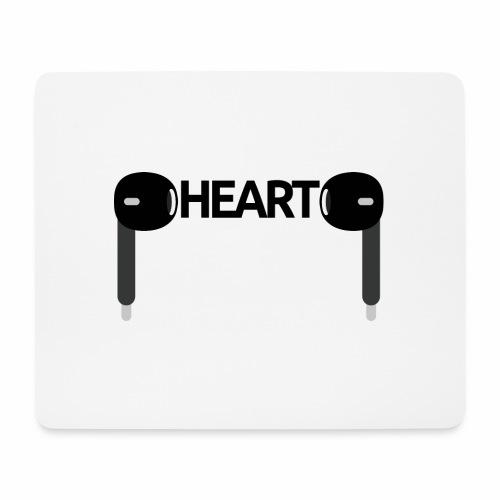 ListenToYourHeart - Podkładka pod myszkę (orientacja pozioma)