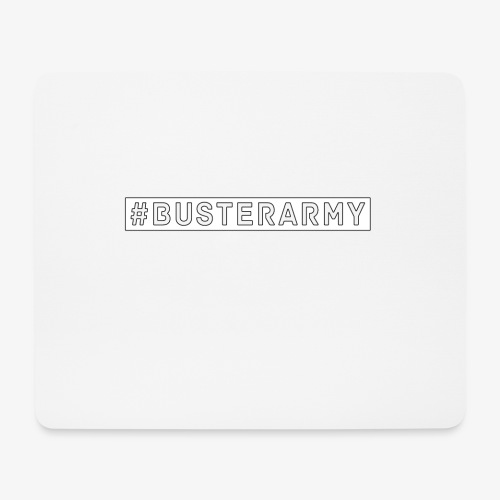 #Busterarmy - Mousepad (Querformat)
