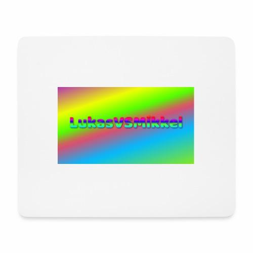 LukasVSMikkel Logo - Mousepad (bredformat)