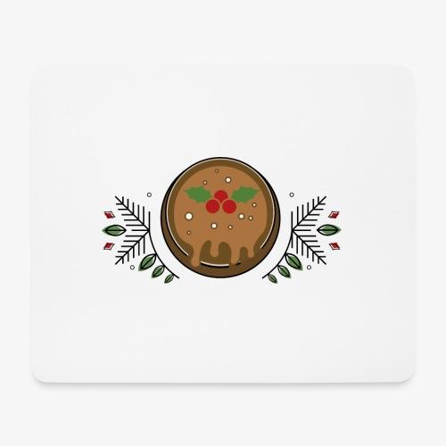 CHRISTMAS PUDDING - Mouse Pad (horizontal)