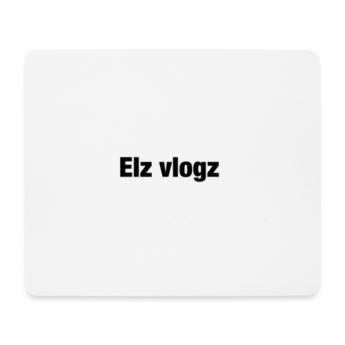 Elz vlogz merch - Mouse Pad (horizontal)