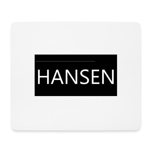HANSENLOGO - Mousepad (bredformat)