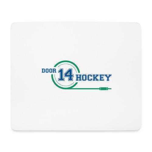 D14 HOCKEY LOGO - Mouse Pad (horizontal)