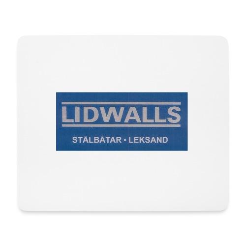 Lidwalls Stålbåtar - Musmatta (liggande format)