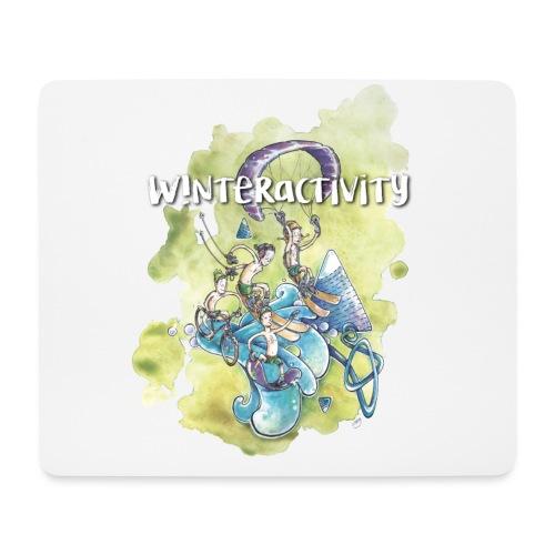 WINTERACTIVITY - Tapis de souris (format paysage)