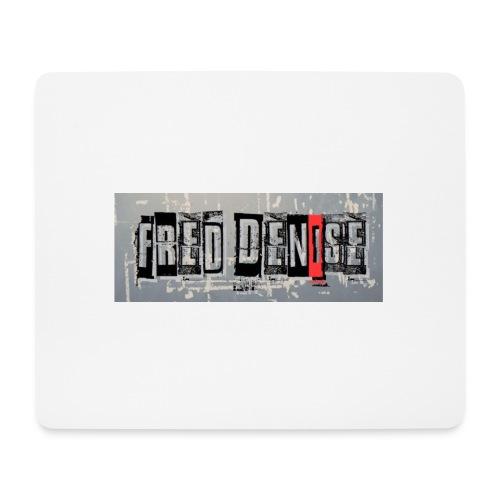 logo freddenise rectangle - Tapis de souris (format paysage)