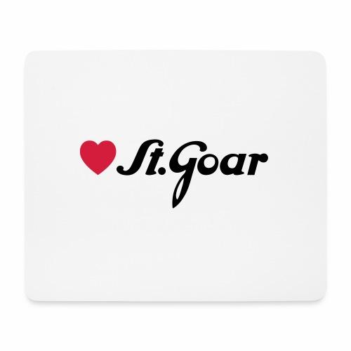 Herz für St. Goar - Mousepad (Querformat)