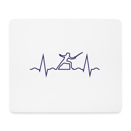 cardio scherma - Tappetino per mouse (orizzontale)