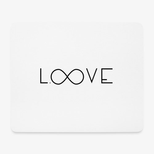 LOOVE Box Logo (SS18) - Tappetino per mouse (orizzontale)