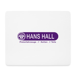 HANS HALL GmbH Logo - Mousepad (Querformat)