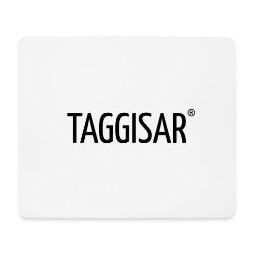 Taggisar Logo Black - Musmatta (liggande format)
