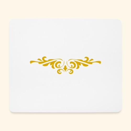 Ilustraccion de un diseño dorado - Alfombrilla de ratón (horizontal)