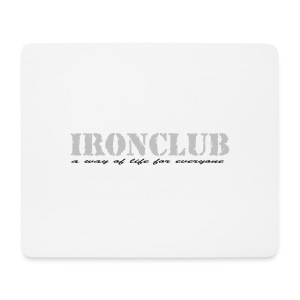 IRONCLUB - a way of life for everyone - Musematte (liggende format)