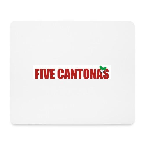Five Cantonas - Mouse Pad (horizontal)