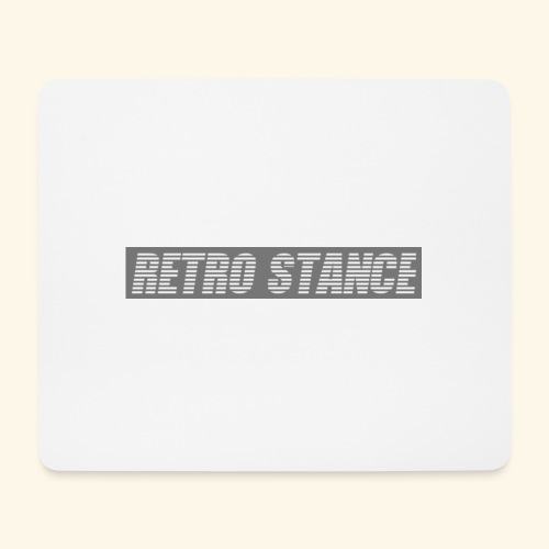 Retro Stance - Mouse Pad (horizontal)