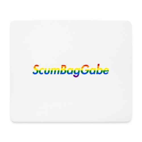 ScumBagGabe Multi Logo XL - Mouse Pad (horizontal)