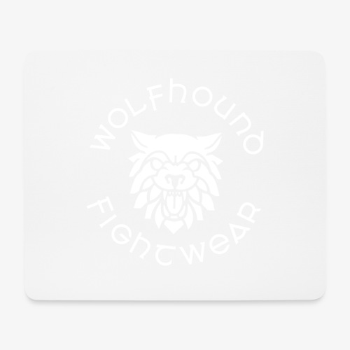 logo round w - Mouse Pad (horizontal)