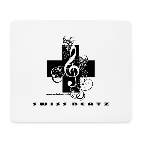 Swiss Beatz Logo with L - Mousepad (Querformat)