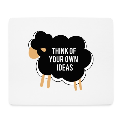 Think of your own idea! - Mouse Pad (horizontal)