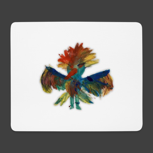 Mayas bird - Mouse Pad (horizontal)