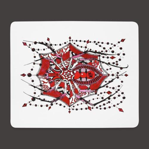 Spider Dentelle Red - Tapis de souris (format paysage)