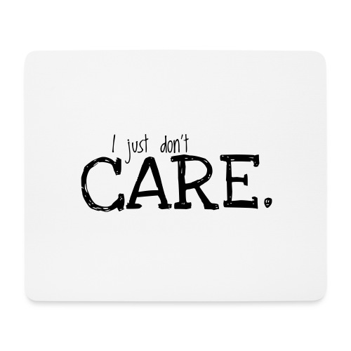 Care - Mouse Pad (horizontal)