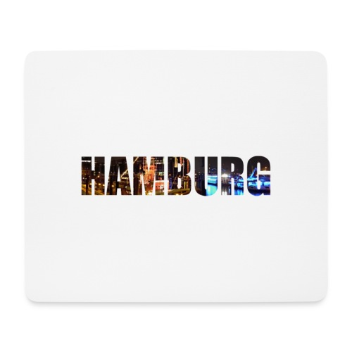 Hamburg - Mousepad (Querformat)