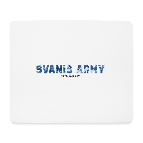 SVANIS ARMY, SWEDISHGAMING - Musmatta (liggande format)