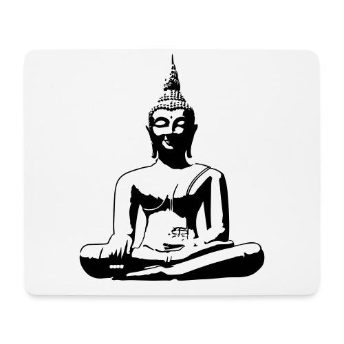 Boeddha beeld - Muismatje (landscape)