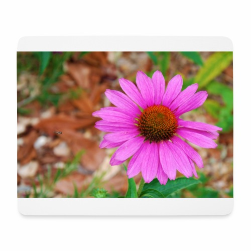 Just one flower - Tapis de souris (format paysage)
