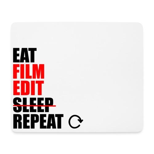 Life of a filmmaker - Mousepad (Querformat)