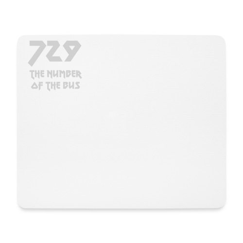 729 grande grigio - Tappetino per mouse (orizzontale)