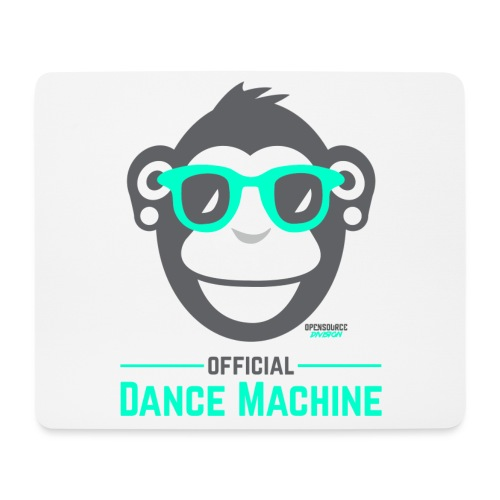 Official Dance Machine - Mousepad (Querformat)