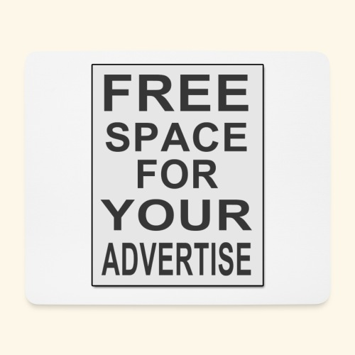 Free space for your advertise - Mouse Pad (horizontal)