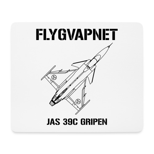 FLYGVAPNET - JAS 39C - Musmatta (liggande format)
