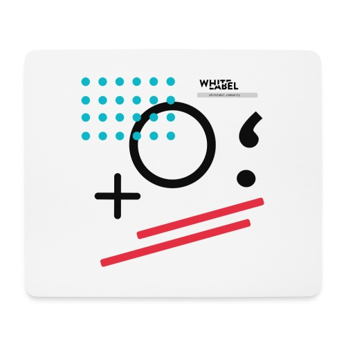 White Label Community official - Tappetino per mouse (orizzontale)