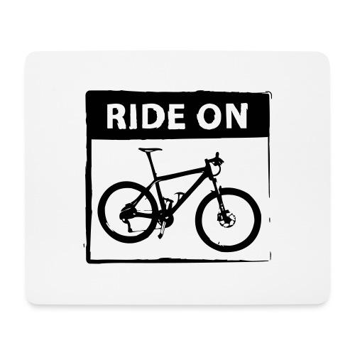 Ride On MTB 1 Color - Mousepad (Querformat)