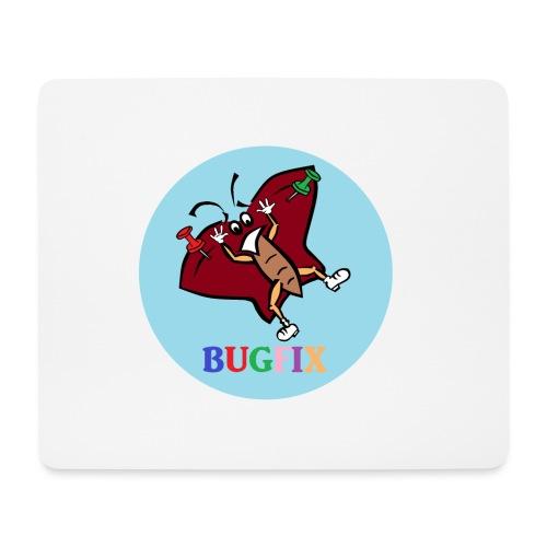 Tasse Bugfix - Mousepad (Querformat)