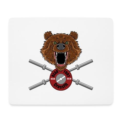 Bear Fury Crossfit - Tapis de souris (format paysage)