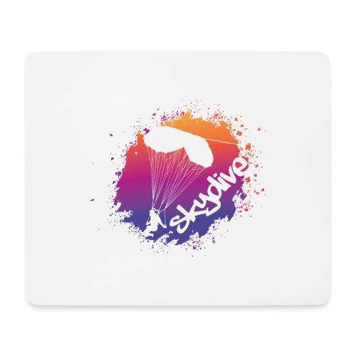 Skydive Watercolor - Mousepad (Querformat)