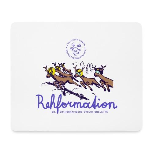 Die Rehformation - Mousepad (Querformat)