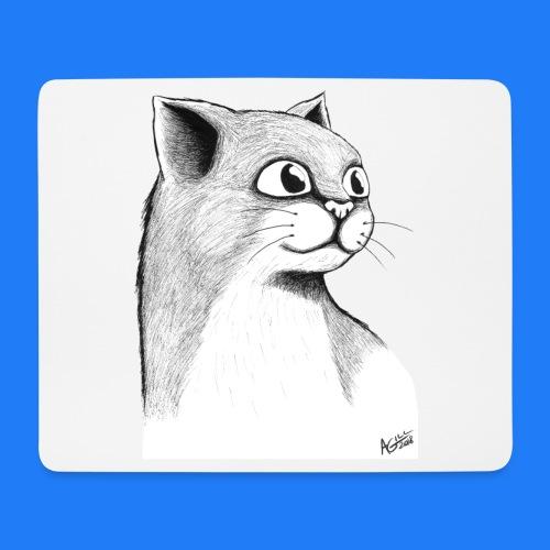 CAT HEAD by AGILL - Tapis de souris (format paysage)