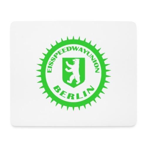 Logo klein ESU transp Green - Mousepad (Querformat)